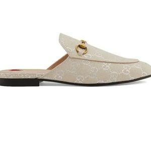Gardenia Women's Gg Lamé Princetown Slippers
